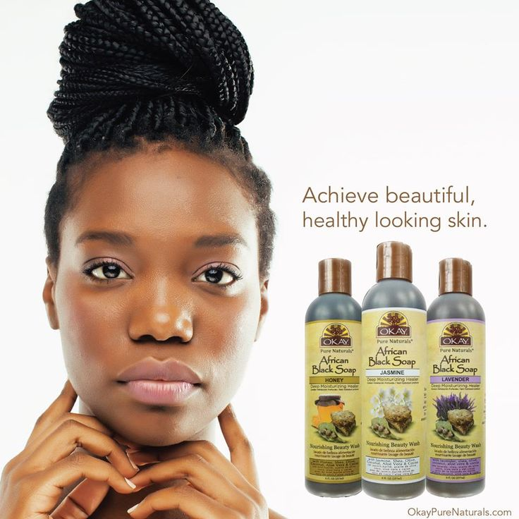 Black Skin Care: 40 Best OKAY® African Black Soap Images On Pinterest