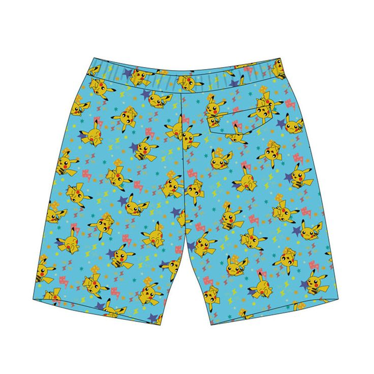 Pokemon Go Cosplay Pokemon Beach pants fresh shorts Pokemon shorts