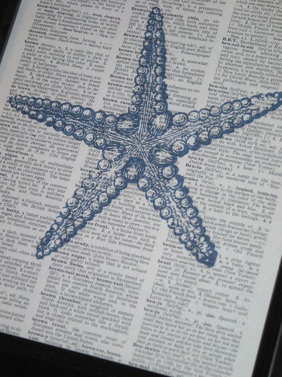 Sea Life Art Print Ocean Art Print by HamiltonHousePrints on Etsy, $8.00