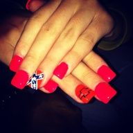 chevy nails | New nails .... Chevy & rebel flag