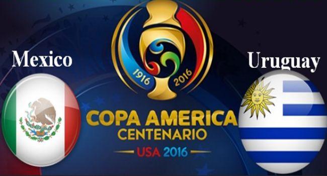 Prediksi Meksiko Vs Uruguay 6 Juni 2016  #PrediksiSpbo #PrediksiBola #PrediksiSkor #PialaAmerika2016 #CopaAmerica2016 #Meksiko #Uruguay  Prediksi Meksiko Vs Uruguay 6 Juni 2016, Jadwal Copa America Centenario antara Meksiko vs Uruguay tersaji di University of Phoenix, Senin (6/6) 07.00 WIB.