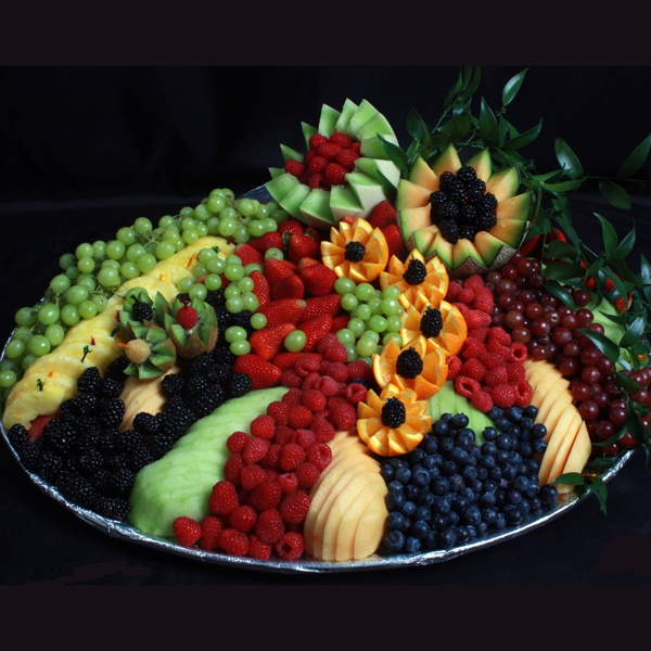 "Assorted Fruit Tray idea for luau party located in the book, ""With Love...The New Generation of Party People"". Check out the details @ www.withlovebook.com!"