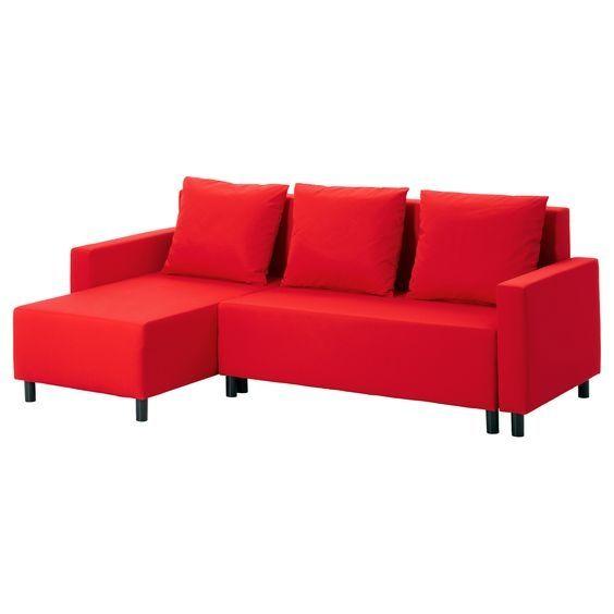Image for Lugnvik Sofa Bed Lugnvik Sleeper Sectional, 3 Seat, Granån Black   Sofa Beds