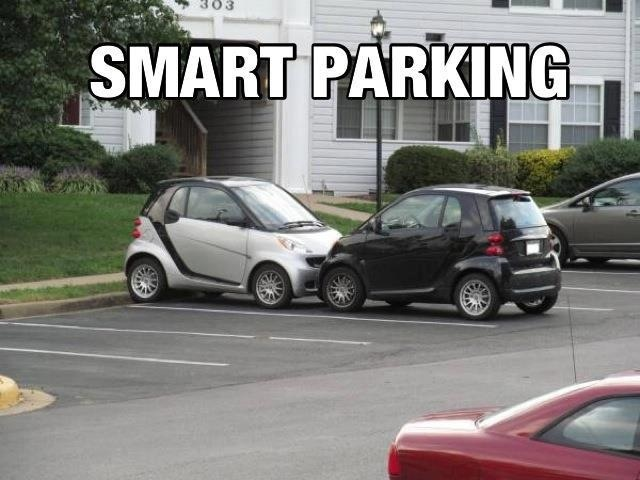 Smart cars subtract the bells & whistles to provide transportation at a smaller price & release much less pollution.