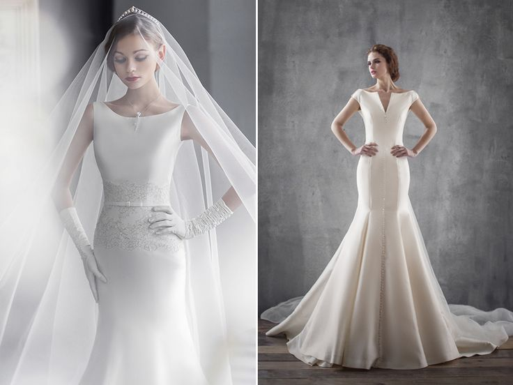 24 Contemporary Wedding Dresses for Not-As-Girly Brides!