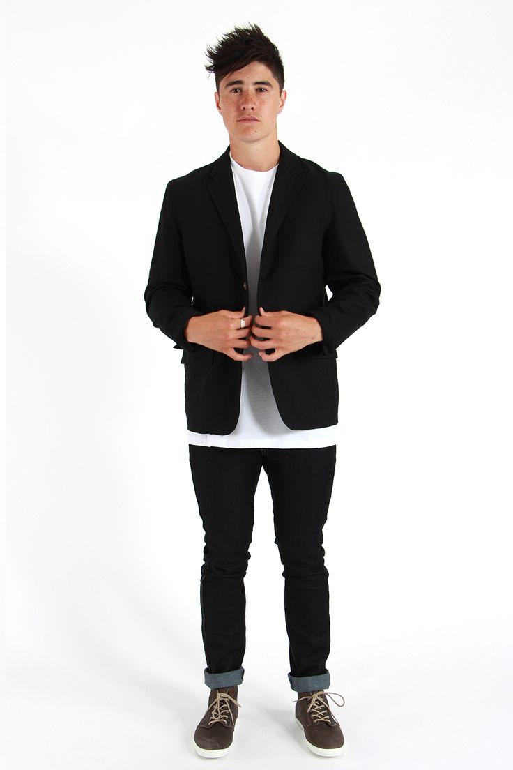 Huffer Oxford Blazer - Jackets | North Beach