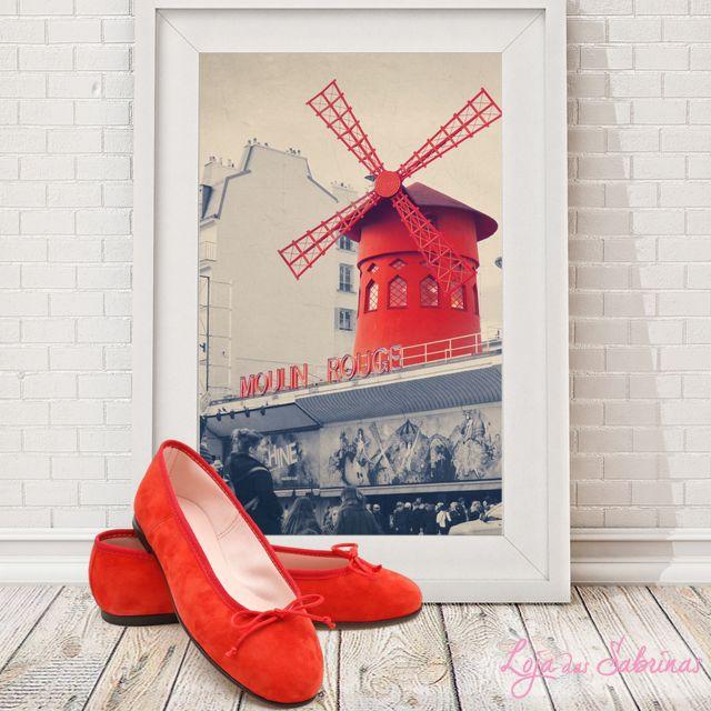 Já a pensar no Dia dos Namorados, as nossas sabrinas Moulin Rouge são a companhia ideal para uma viagem à cidade do amor. Fica a sugestão! ☺