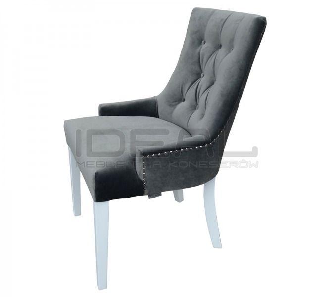 Krzesła - Krzesło Chesterfield Elen - Ideal Meble
