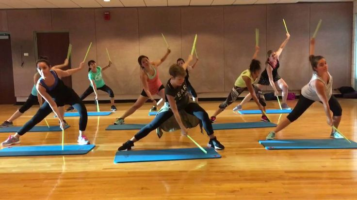 """LIGHT 'EM UP"" by Fall Out Boys - Dance Fitness Workout with Drum sticks..."