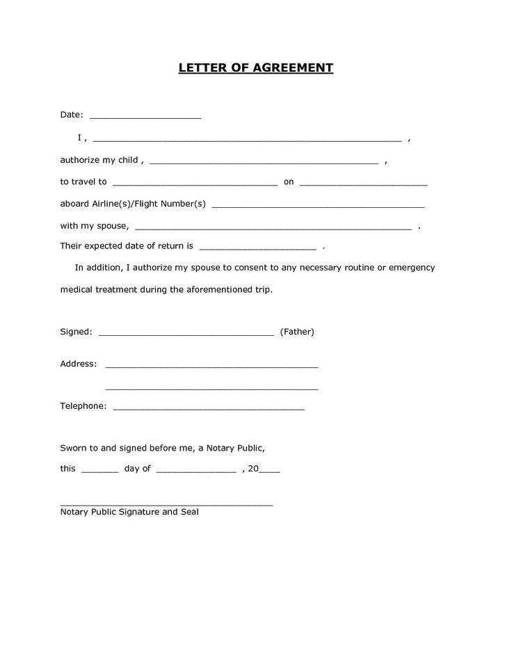 letter template for permission best of 6 child travel. Black Bedroom Furniture Sets. Home Design Ideas