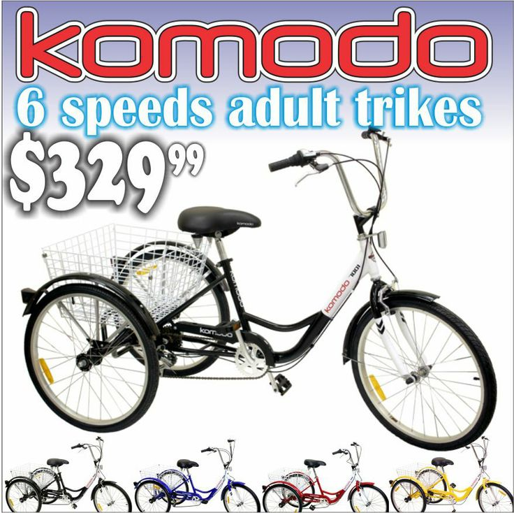 3 Wheel Bikes For Adults Over 300 Lbs Komodo speeds quot lbs