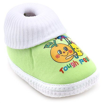 Little's Fancy Baby Bootie - Green And White http://www.firstcry.com/littles/littles-fancy-baby-bootie-green-and-white/39103/product-detail