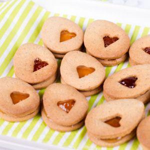 Linecké sušenky bezlepkové