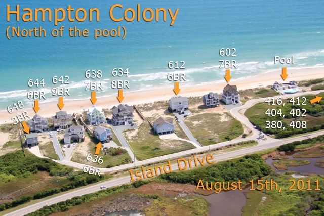 Hampton Colony 636 | Oceanfront--B Lot Vacation Rental | N. Topsail Beach NC