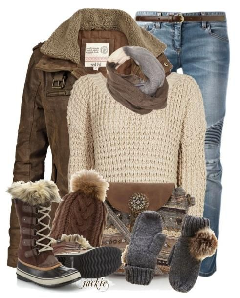 21 Perfect Winter Outfits For School 2015 #schooloutfits #winter_outfits #outfitideas2015 ...