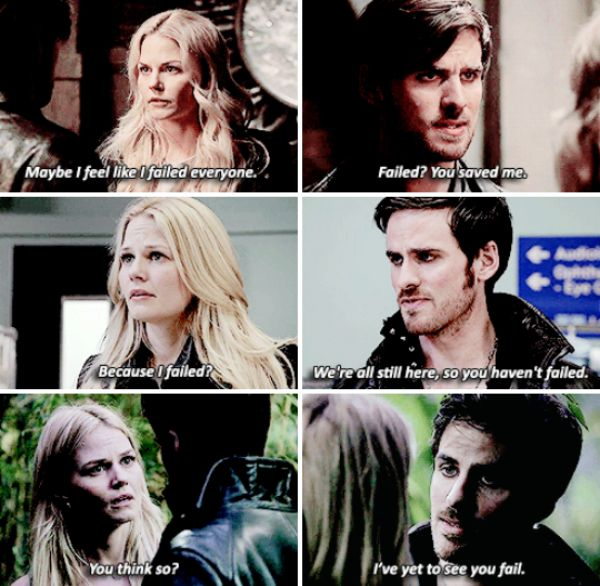 He has such faith in her #CaptainSwan