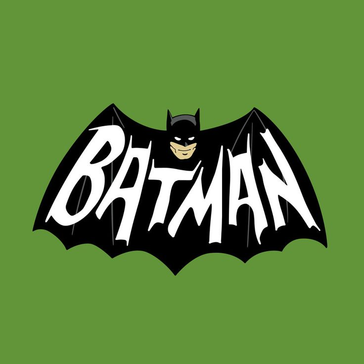 1966 Batman Logo