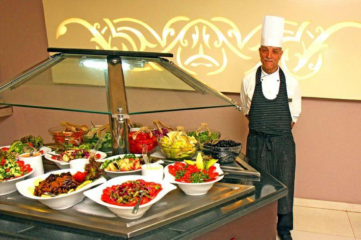 Kuchnia włoska, libańska, rosyjska, chińska i śródziemnomorska