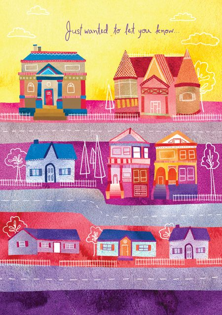 Marisa Seguin / great use of color: House Obsession, Illustrations Inspiration, Artsy Building, Little House, Art Inspiration, House Sesuoh, Amazing Artists, Scene Illustrations, Marisaseguin Watercolor