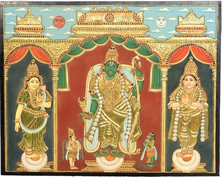 Rama Navami Week... Rama Tanjore Paintings