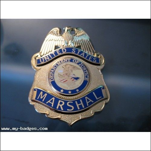 US MARSHAL BADGE FIRST ISSUE