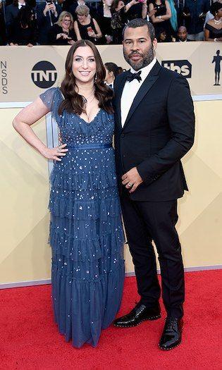 Chelsea Peretti and Jordan Peele  Photo: © Getty Images 2018