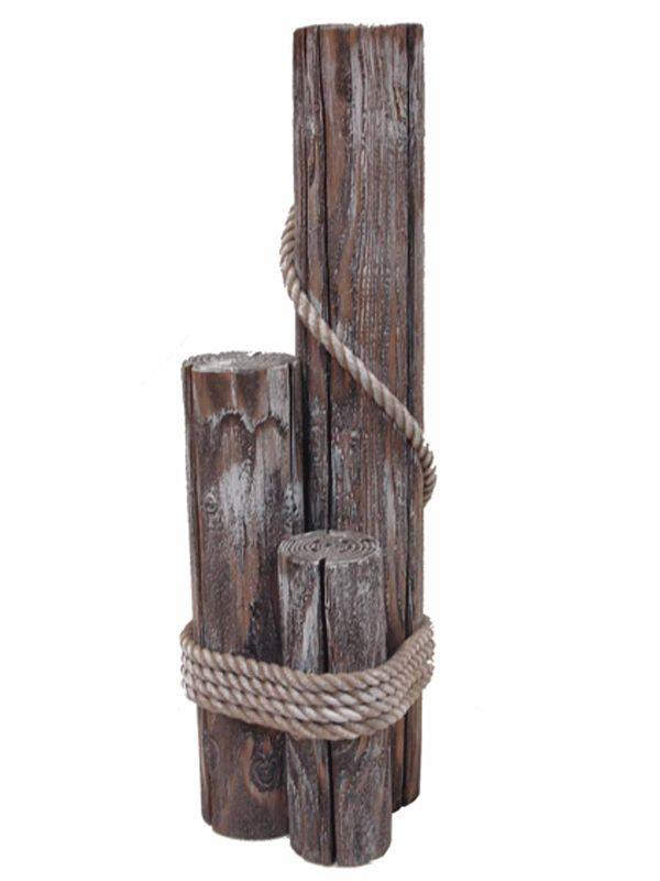 Steigerpalen voor de haven van hout 63 cm
