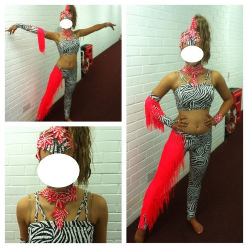 U16/Youth Inter/Champ Disco Freestyle Dancing costume   eBay