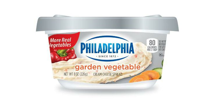 New stackable packaging and improved flavors from Philadelphia Cream Cheese