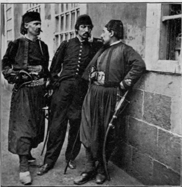 Turkish officers of Constantinople