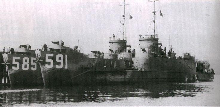 A cambio de la declaración de guerra a Japón por parte de la Unión Soviética los Estados Unidos iniciaron en secreto en la primavera de 1945 un programa de préstamo de naves a la Armada Soviética.  A pesar de que tanto el Imperio Ruso como posteriormente la Unión Soviética tuvieron sus encontronaz