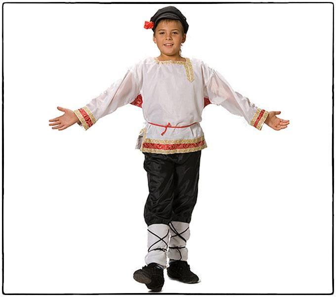 Купить дешевый русский народный костюм