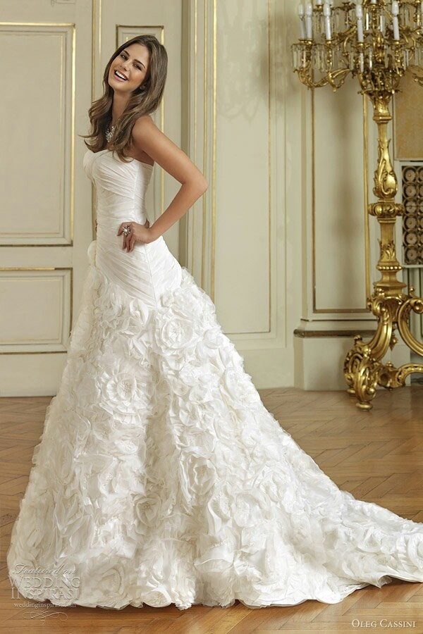 Spectacular Oleg Cassini Wedding Dress