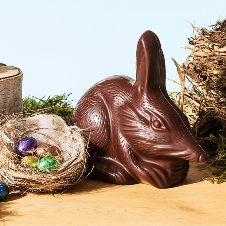 Haigh's milk chocolate Bilbies, made with premium milk chocolate, available in 2 sizes.