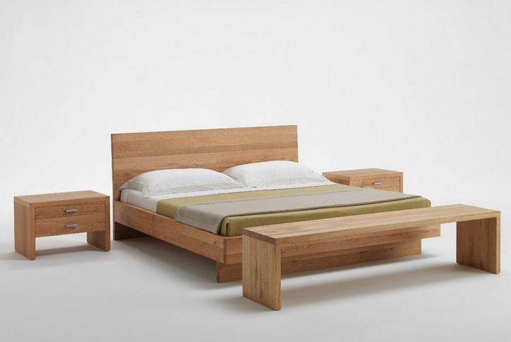 Excellent Solid Wood Bed For Both Modern And Classic