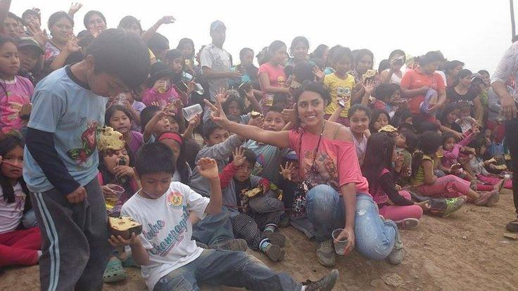 Artaban Onlus con Rossina Peña tra i piccoli peruviani delle baraccopoli della capitale.
