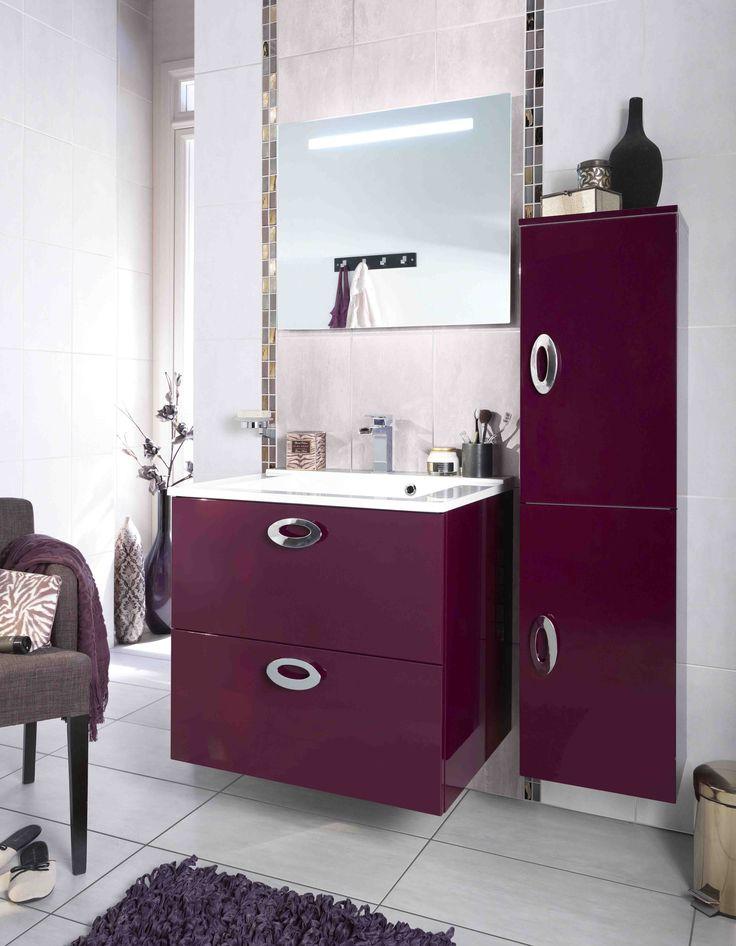 20 best aquarine meubles de salle de bains catalogue for Lapeyre creatis