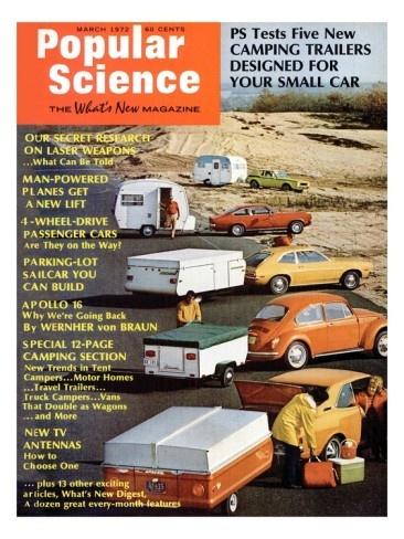 Popular Science Magazine: March 1, 1972