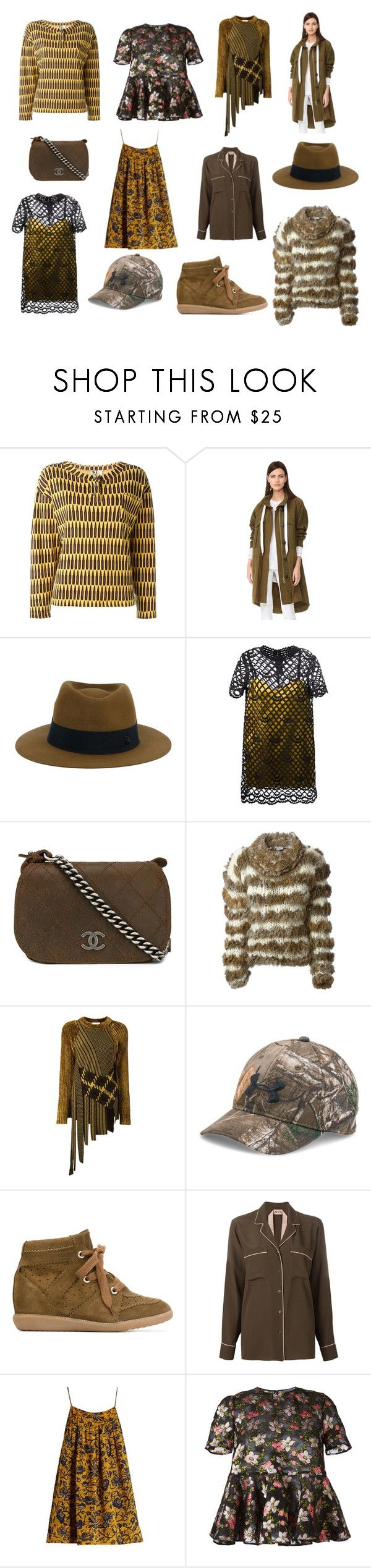"""""""Super Express Sale"""" by donna-wang1 ❤ liked on Polyvore featuring Stephen Sprouse, rag & bone, Maison Michel, Marc Jacobs, Chanel, Christian Dior, 3.1 Phillip Lim, Under Armour, Isabel Marant and N°21"""
