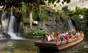 Nashville Resort Activities & Fitness Center | Gaylord Opryland Resort | The Delta Riverboat travels down a scenic river winding through a 4.5-acre indoor garden. Take in the natural beauty while our guides share facts about the Delta's plants and fish and answer your questions about our Nashville resort and its many activities. | BUY TICKETS AT THE DOCK