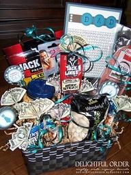 51 best basket ideas images on pinterest easter crafts party httpprogresslightingparts men gift baskets several ideas i love negle Gallery