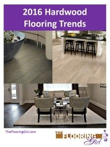 Hot off the presses.  2016 Hardwood Flooring Trends.