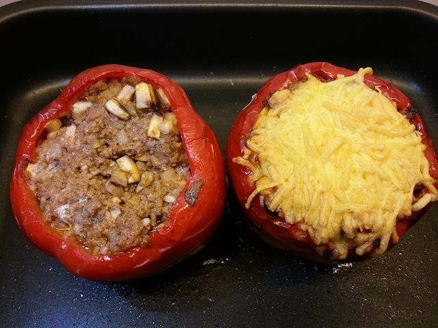 Gevulde paprika's | Oerkracht - Paleo, Puur & meer