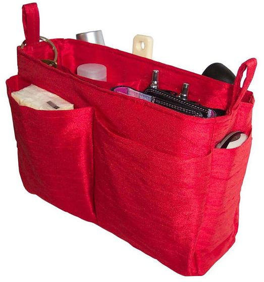 Jeri's Organizing & Decluttering News: Purse Organizers Keep Your Handbag Contents Under Control