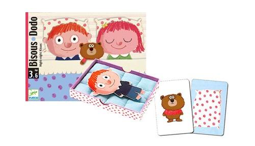 Cartas - Hora de Dormir - Um jogo de cartas adaptado aos mais pequenos que se tornará num ritual na hora de deitar: uma almofada, um lençol e um doudou ... para encontrar beijos a receber e ... boa noite!