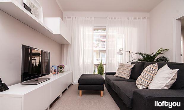 #proyectosantalo #iloftyou #interiordesign #ikea #barcelona #lowcost #ranarp #ribba #lack #besta #kivik #livingroom #matilda #karlstad #