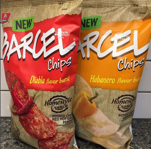 Barcel Chips.. Diablo and Habanero