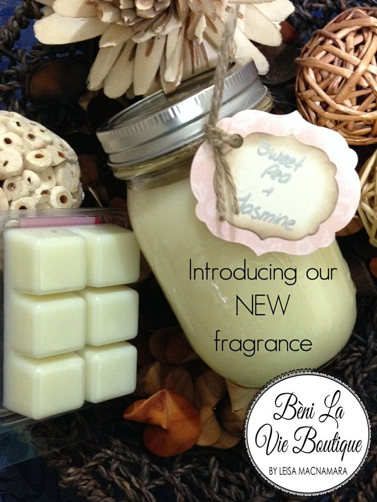 Introducing our newest fragrance..... Sweet Pea and Jasmine Just devine!
