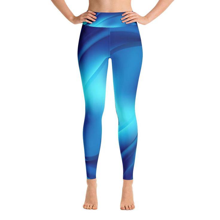 Yoga Bluewaves Leggings