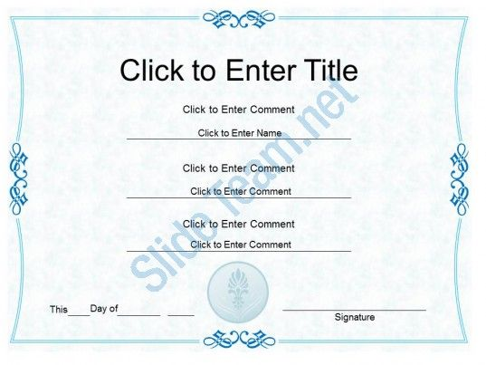 corporate excellence award diploma certificate template of ceremony completion powerpoint for adults Slide01